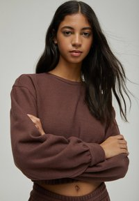 PULL&BEAR - Sweatshirt - brown - 3