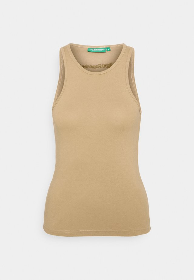 GANG TANK - Toppi - light khaki