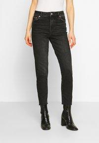 Pieces - PCNIMA - Jeans straight leg - black denim - 0