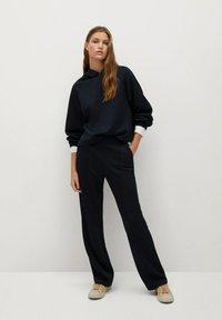 Mango - TAMMY - Trousers - námořnická modrá - 1