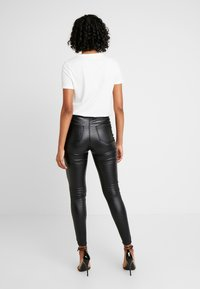 Lost Ink - HIGH WAIST - Jeggings - black