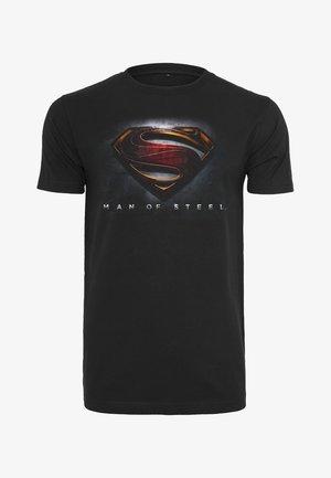 MOS SUPERMAN - T-shirt imprimé - black