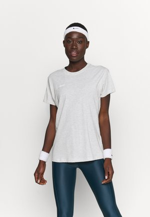 GO WOMAN - T-shirts med print - egret melange