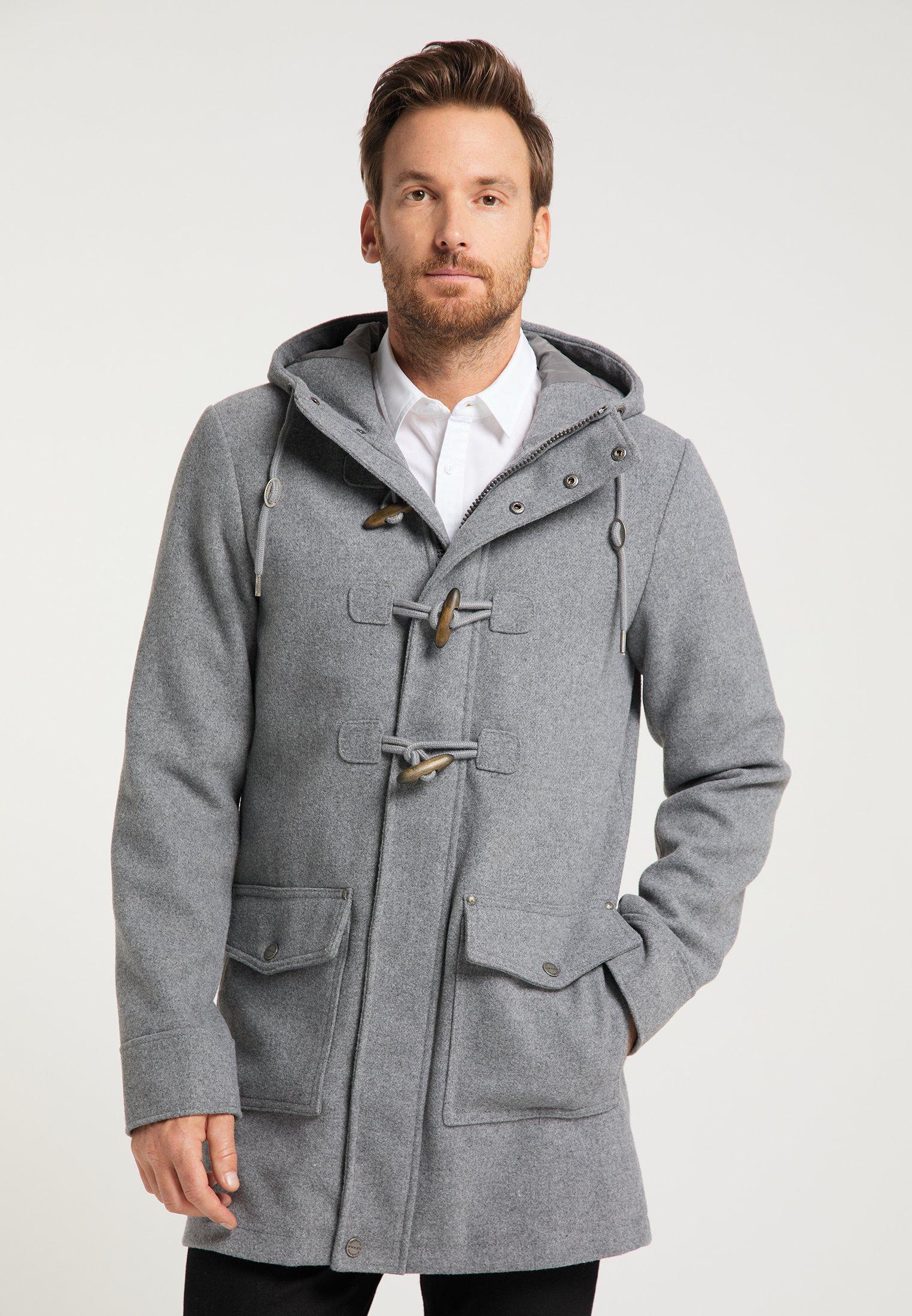 manteau cardan court a capuche pour femme