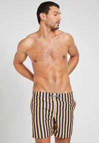 Shiwi - Swimming shorts - satsuma spritz yellow - 0