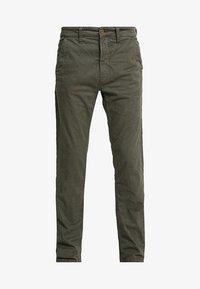 Nudie Jeans - SLIM ADAM - Pantaloni - olive - 4