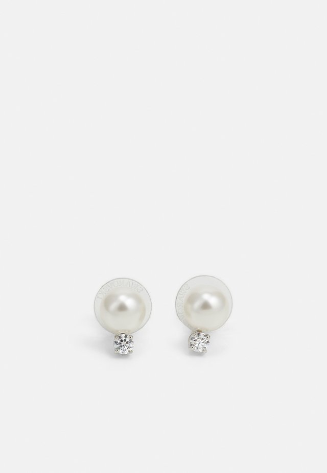 TREASURE - Earrings - white