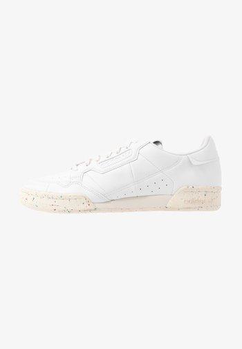 CONTINENTAL 80 PRIMEGREEN VEGAN - Matalavartiset tennarit - footwear white/offwhite/green