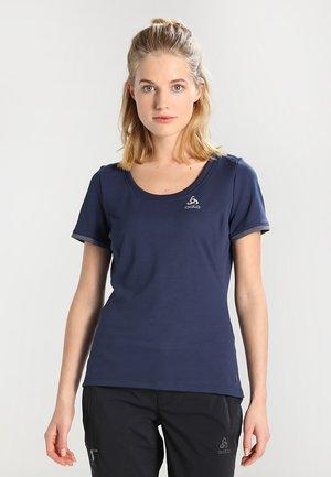 BL TOP CREW NECK S/S KUMANO F-DRY - T-shirt print - diving navy