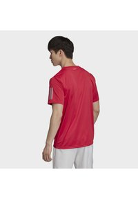 adidas Performance - 3-STRIPES CLUB T-SHIRT - Print T-shirt - pink - 1