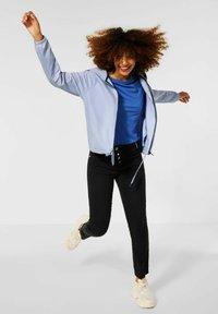 Street One - Sweater met rits - blau - 1