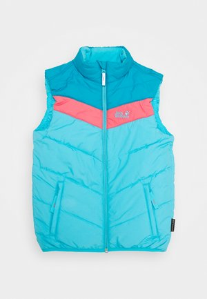 THREE HILLS VEST KIDS - Bodywarmer - atoll blue