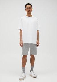 PULL&BEAR - 2 PACK - Shorts - dark grey - 0