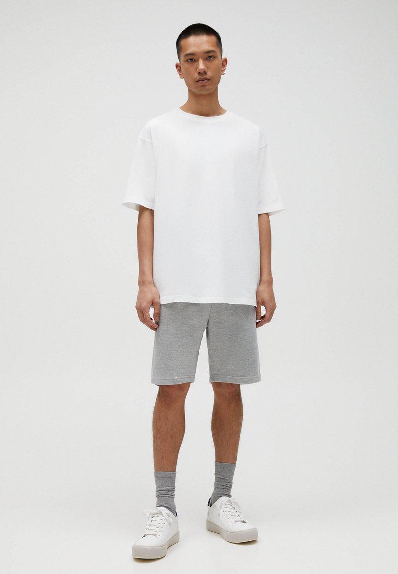 PULL&BEAR - 2 PACK - Shorts - dark grey
