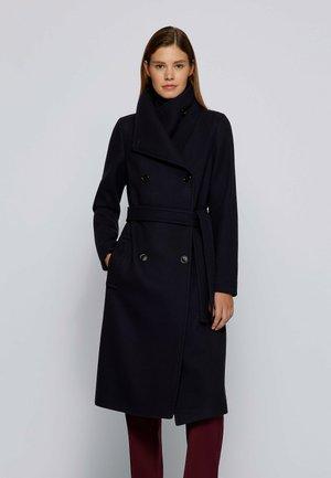 CEDANIA - Classic coat - open blue