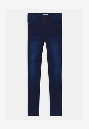 NKFPOLLY  - Skinny džíny - dark blue denim