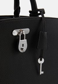 Calvin Klein - DRESSED BUSINESS TOTE  - Handbag - black - 3