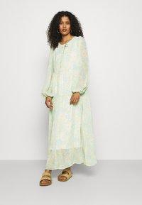 Selected Femme - SLFGEORGIA DRESS - Maxi dress - young wheat - 0