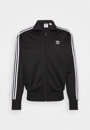 BIRD  - Training jacket - black/white
