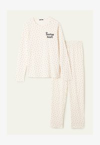 Tezenis - SET - Pyjama set - latte st.microcuori - 0