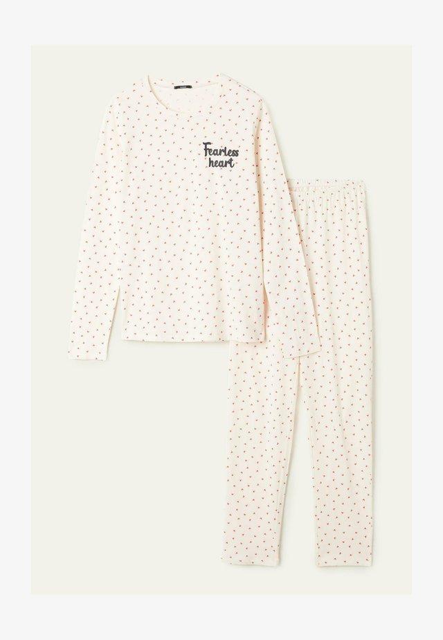 SET - Pyjamas - latte st.microcuori