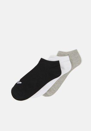 UNISEX 3 PACK - Chaussettes - white/black/light grey