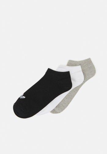 UNISEX 3 PACK - Socks - white/black/light grey