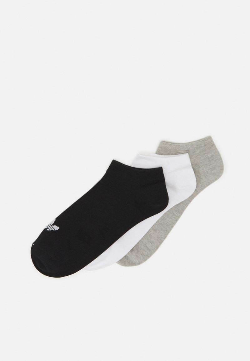 adidas Originals - UNISEX 3 PACK - Sokken - white/black/light grey