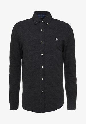 FEATHERWEIGHT MESH SHIRT - Skjorta - black marl heather