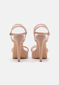 Even&Odd Wide Fit - High heeled sandals - nude - 3