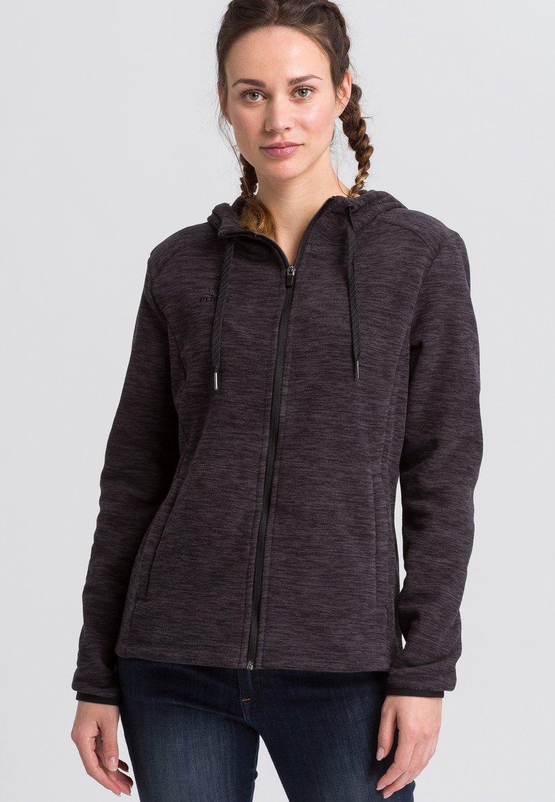 Erima - Zip-up hoodie - black