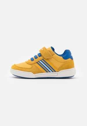 POSEIDO BOY - Tenisky - dark yellow/royal