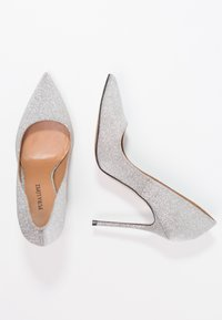 Pura Lopez - Hoge hakken - glitter argento - 2