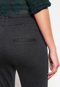 ONLY - POPTRASH EASY COLOUR  - Tracksuit bottoms - dark grey melange - 4