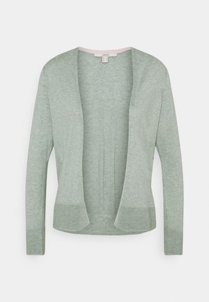 CARDI OPEN - Strikjakke /Cardigans - dusty green