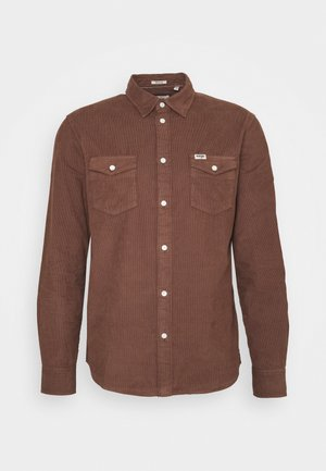 LS 2 POCKET FLAP SHIRT - Overhemd - tortoise shell