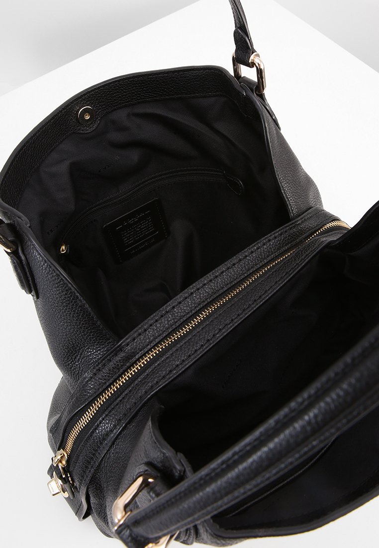 Coach EDIE SHOULDER BAG - Håndveske - black/svart oOl5chxpPKfjo3i