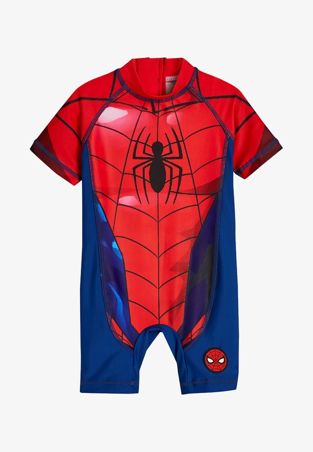 SPIDERMAN SUNSAFE SWIMSUIT - Uimapuku - red