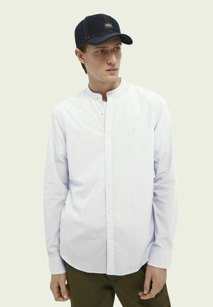 SCOTCH & SODA COLLARLESS POPLIN SHIRT - Shirt - combo b