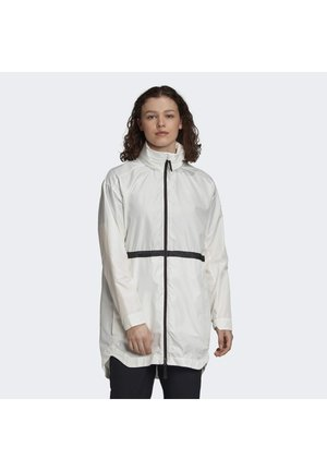 URBAN WIND.RDY PARKA - Windbreakers - white