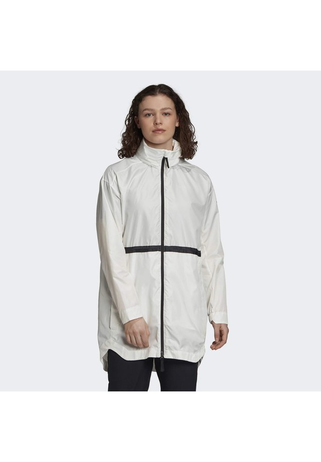 URBAN WIND.RDY PARKA - Veste coupe-vent - white