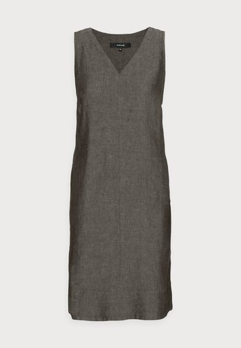 WUNJA - Day dress - black oliv