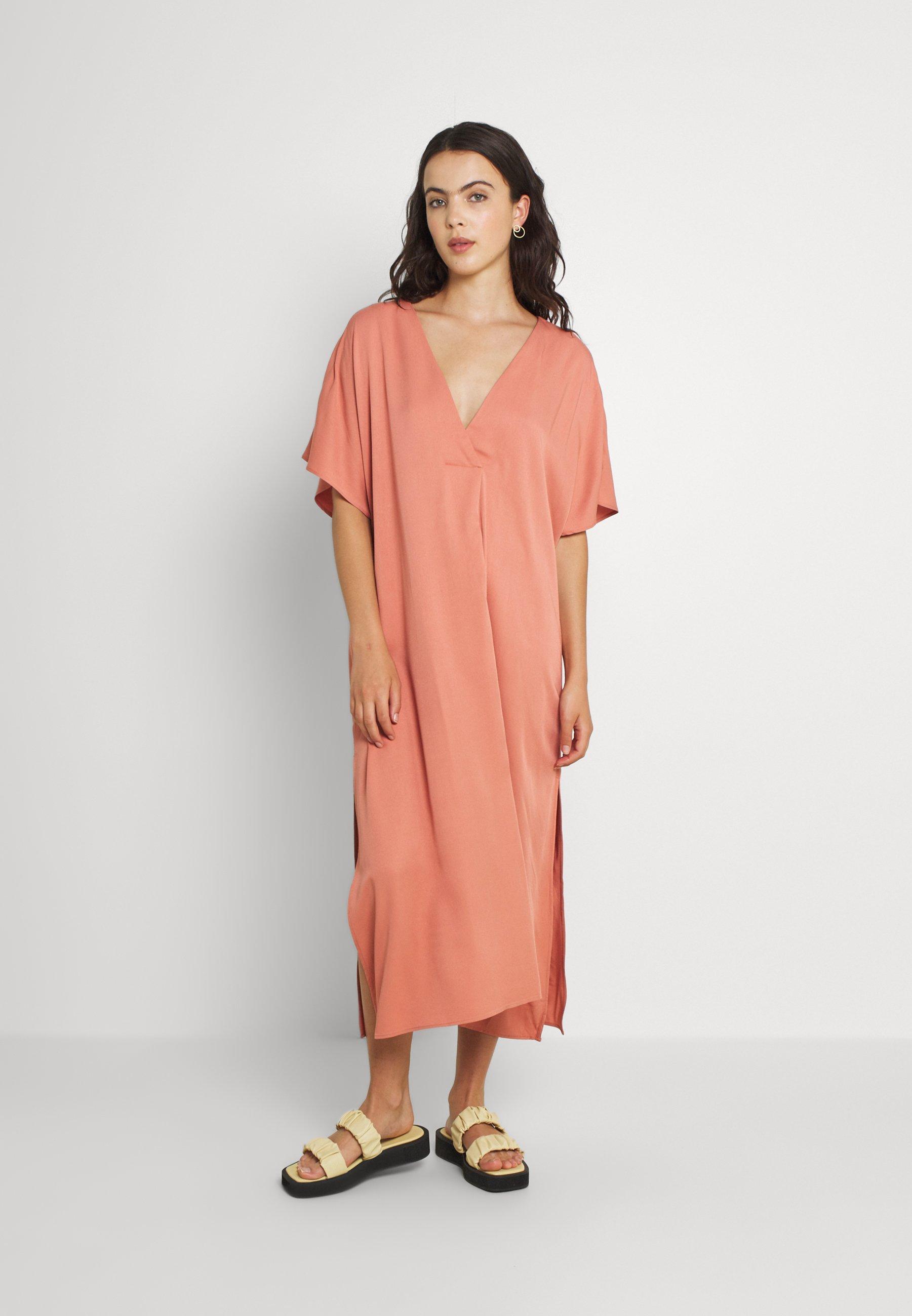 Women CAFTAN MIDI DRESS - Day dress