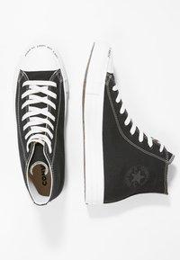 Converse - CHUCK TAYLOR ALL STAR HI RENEW - High-top trainers - black/black/white - 3