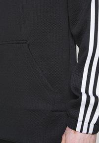 adidas Performance - AEROREADY  - Hoodie - black/white - 5