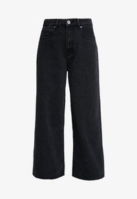 Cotton On - HIGH RISE WIDE LEG - Flared Jeans - vintage black - 5