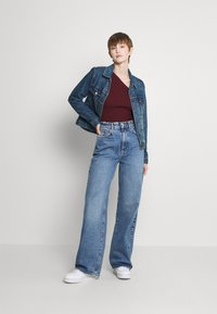 Gina Tricot - IDUN WIDE - Jeans relaxed fit - skyline blue - 1