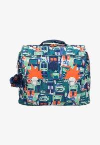 Kipling - INIKO - School bag - robot camo blue - 0