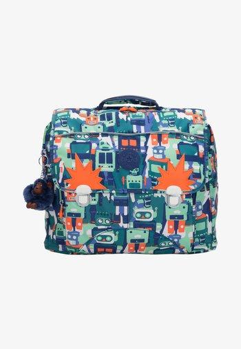 INIKO - School bag - robot camo blue