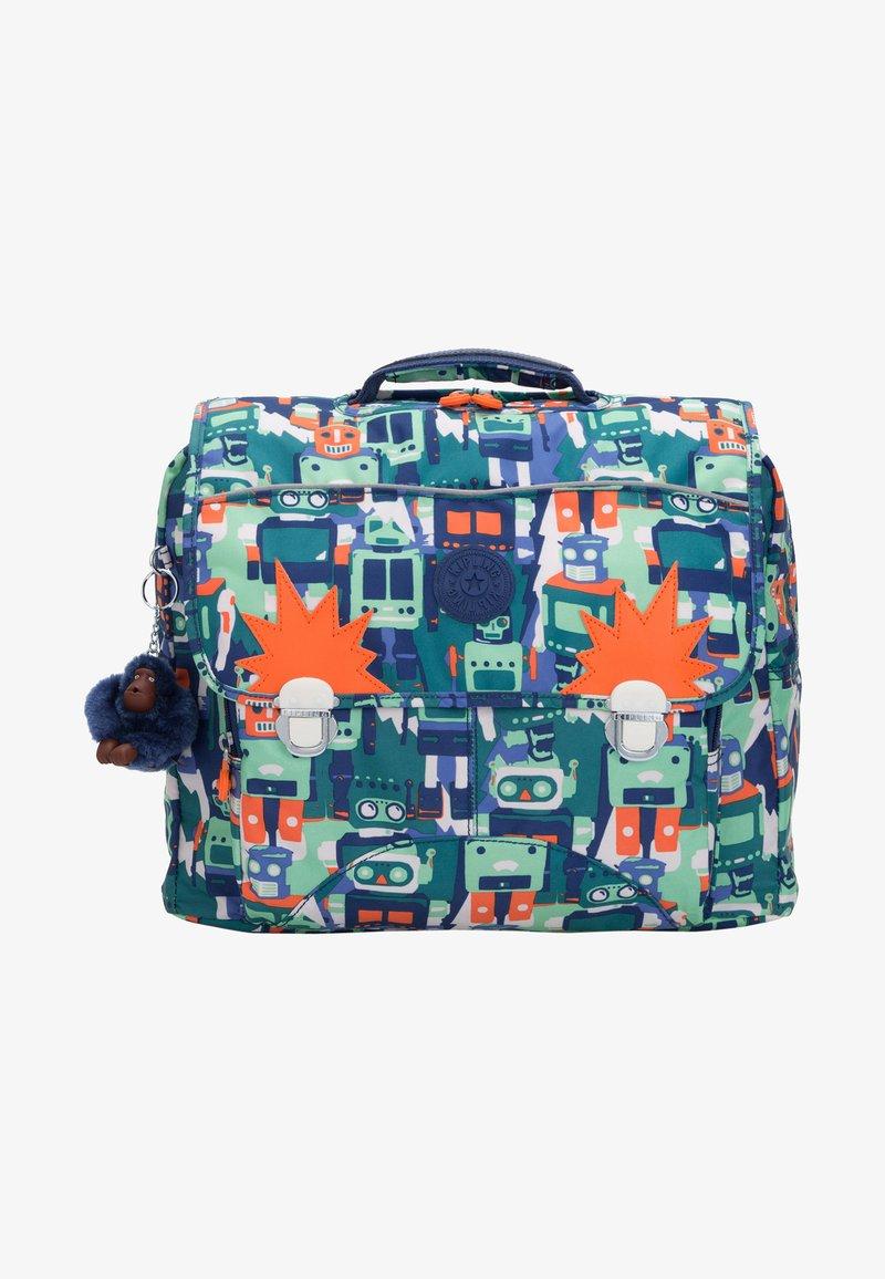 Kipling - INIKO - School bag - robot camo blue